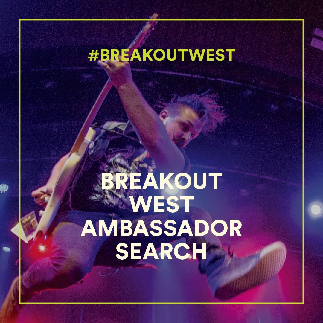 Be The Official 2019 BreakOut West Weekend Ambassador