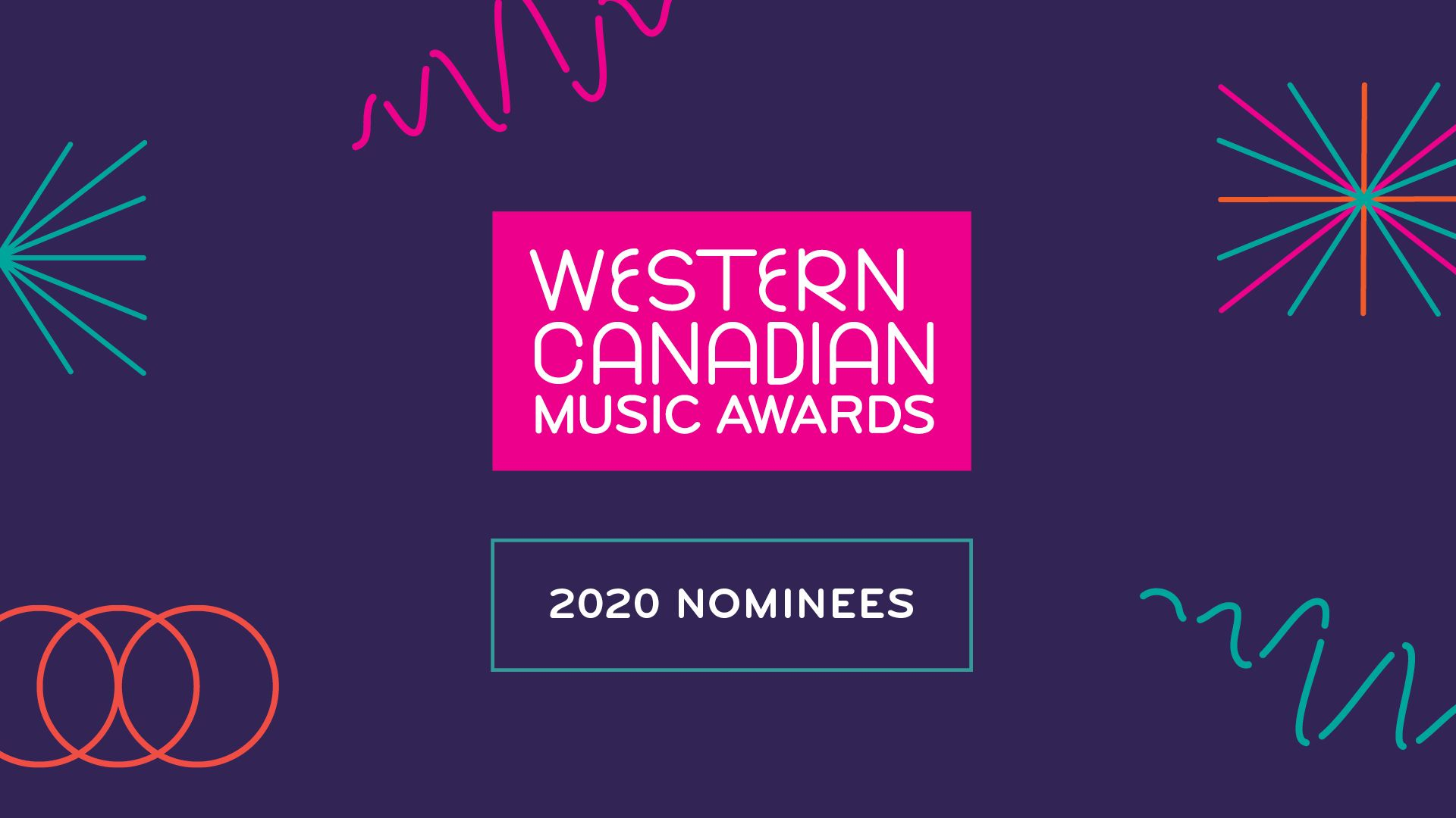 2020 Western Canadian Music Award Nominees