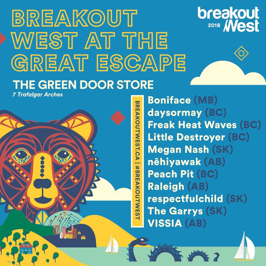 BreakOut West at The Great Escape 2018
