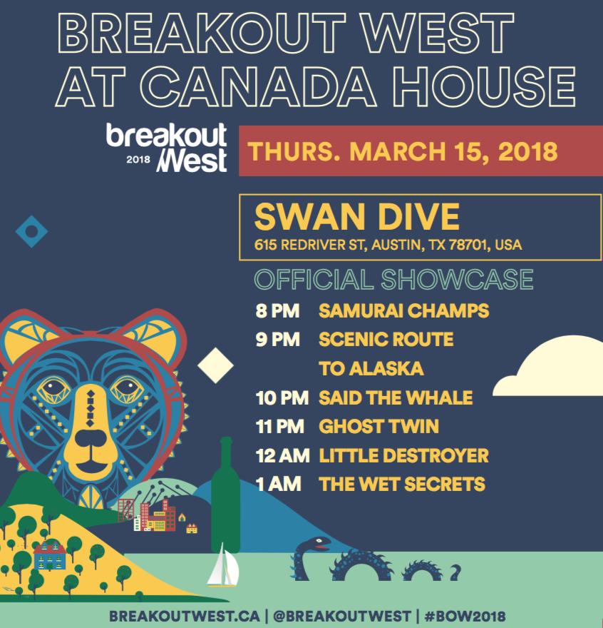 BreakOut West at SXSW 2018