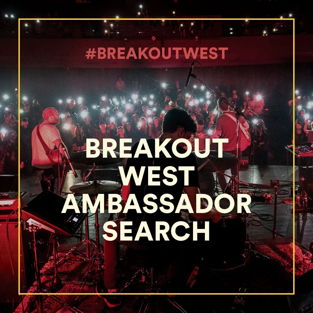 Be the BreakOut West Weekend Ambassador