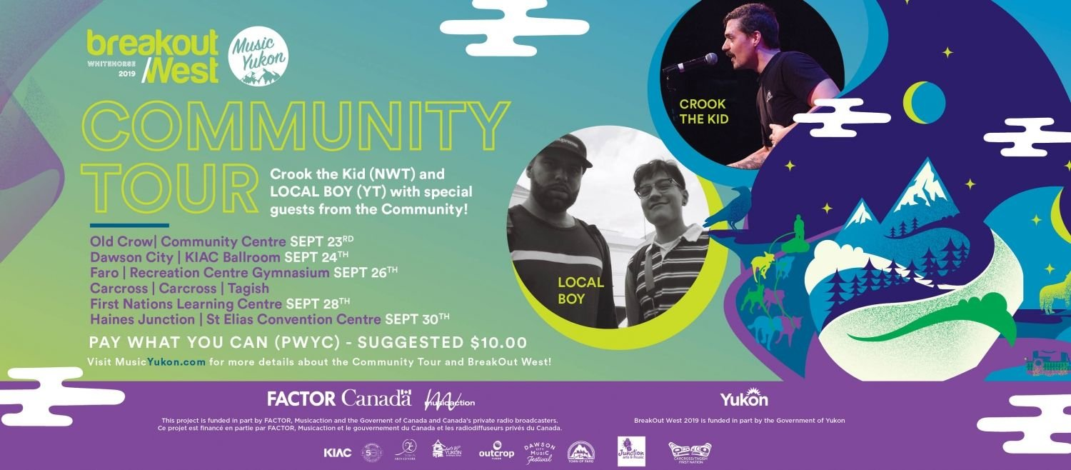 Music Yukon Launches BreakOut West Community Tour