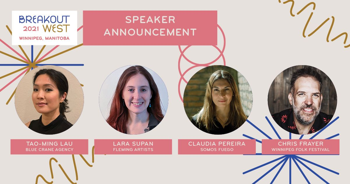First Round Speakers Announce - BreakOut West 2022